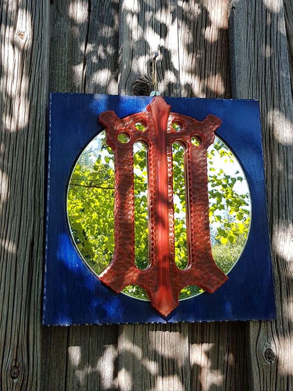 Samiskt hantverk spegel